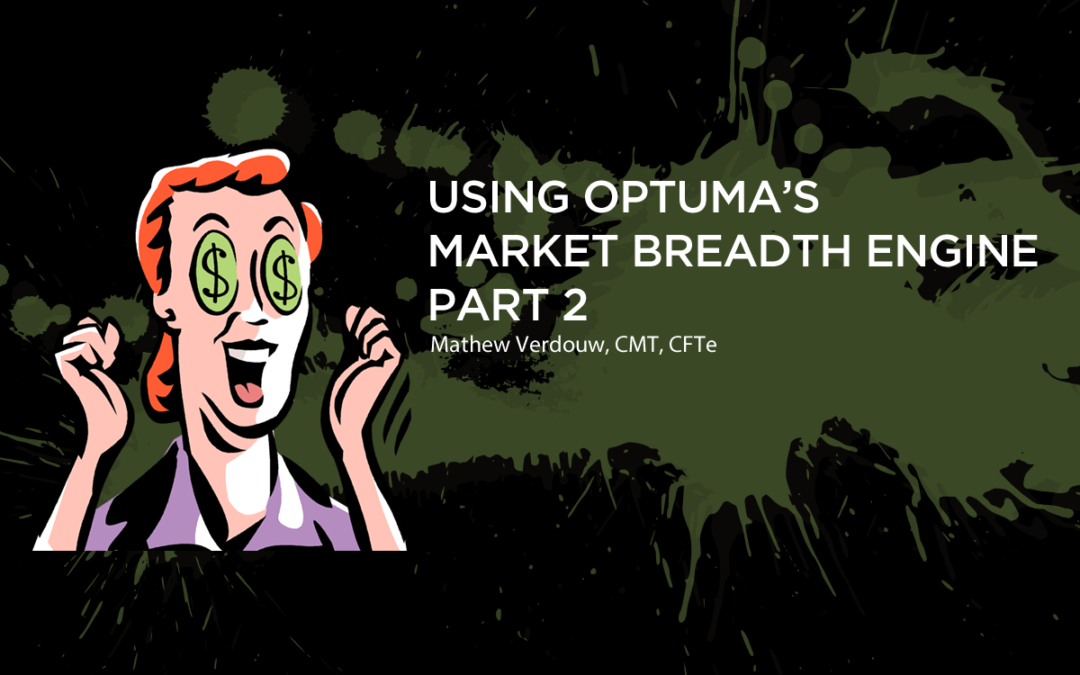 Using Optuma's Market Breadth Engine – Part 2