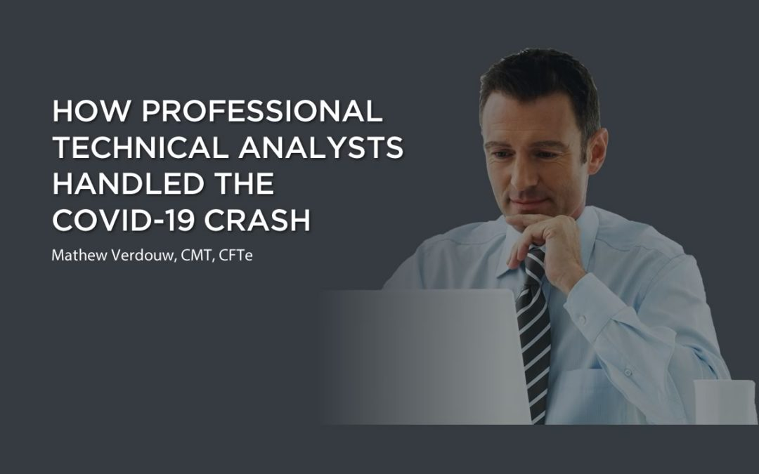 How Professional Technical Analysts Handled the Covid-19 Crash