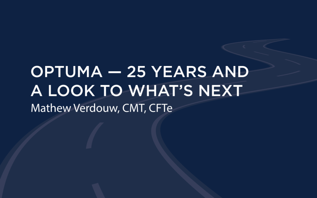 Optuma – 25 Years and a look at what's next