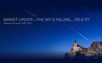 Market Update – The sky is falling….or is it?