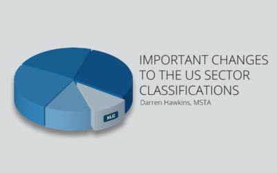 Important Changes to the US Sector Classifications