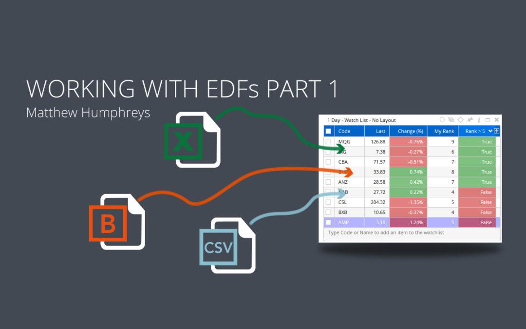 Working with External Data Fields – Part 1