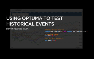 Using Optuma to Test Historical Events