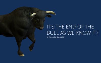 It's the end of the Bull as we know it?