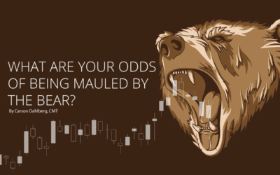 What are your odds of being mauled by the bear?