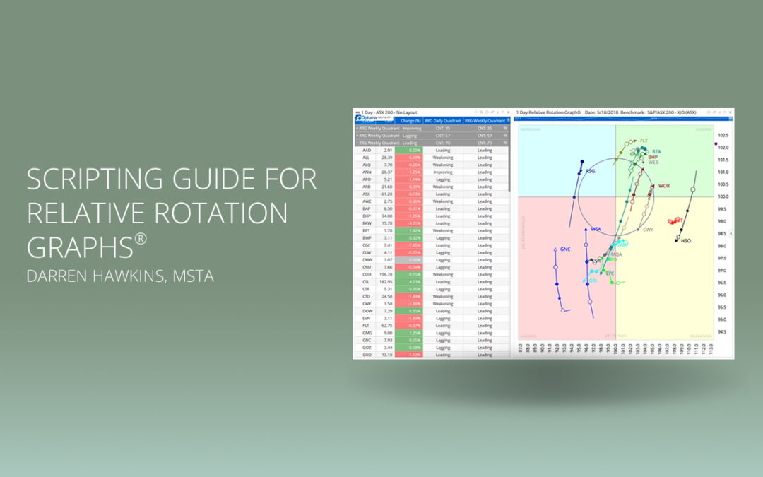 Scripting Guide for Relative Rotation Graphs®
