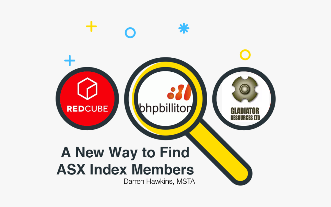 A New Way to Find ASX Index Components