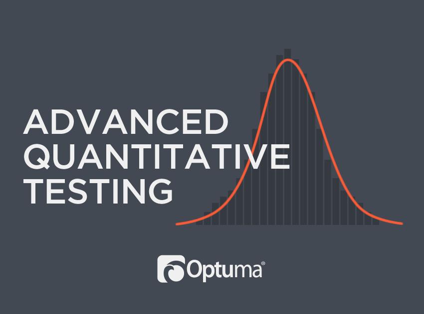 Advanced Quantitative Testing Course
